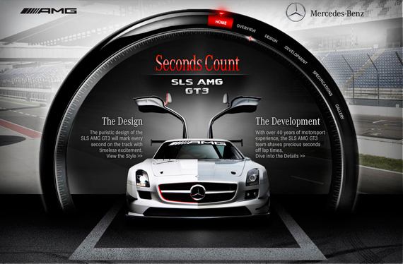 SLS AMG GT3 WEBSITE LAUNCHED!