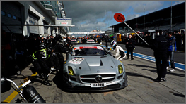 RACING DEBUT FOR THE SLS AMG GT3 ON THE LEGENDARY NÜRBURGRING.